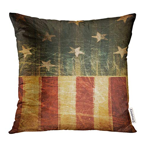 Golee Throw Pillow Cover Country Red July