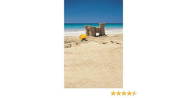 10x8ft Background Sand Beach Photography Backdrop Pretty Scene Studio Photo Props LYFU182