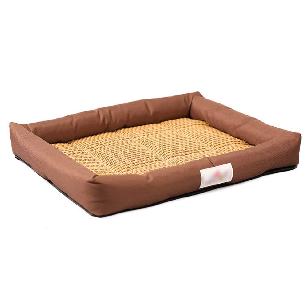 1005M Kennel Small Dog Dog Medium Dog Pet Nest Four Seasons Universal Mat Mattress Cat Supplies Nest (color   1005M)