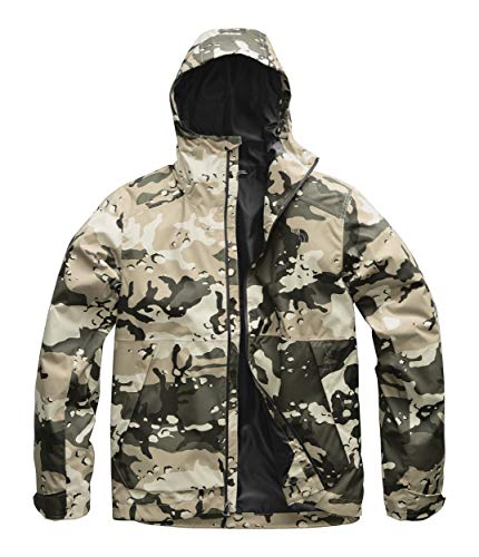 (The North Face Men's Millerton Jacket Peyote Beige Woodchip Camo Print XX-Large)