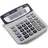 Calculadora com 12 Dígitos e Visor Inclinado Função Markup, Elgin 42MV41230000, Cinza