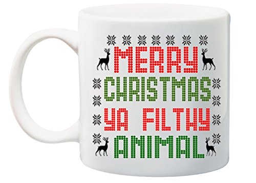 Mug Merry Christmas - Home Alone Merry Christmas Ya Filthy Animal Coffee Mug