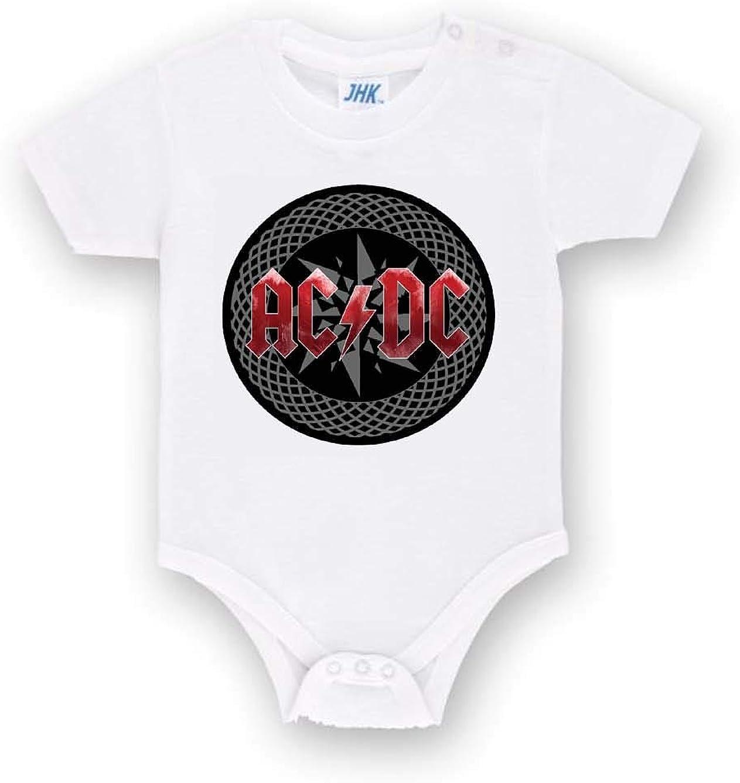 Body Personalizzato degli AC//DC Band Metal in Cotone Tutina Neonato Bimbo Bimba