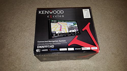 Kenwood eXcelon DNN991HD 6.95 Inch Touchscreen AV Navigation