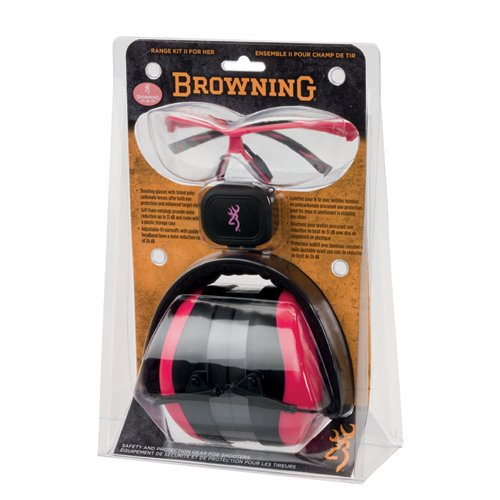 Browning Hear Pro Range II Kit for Her ()