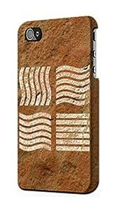 E2670 The Fifth Elements Brown Rock Funda Carcasa Case para IPHONE 5C