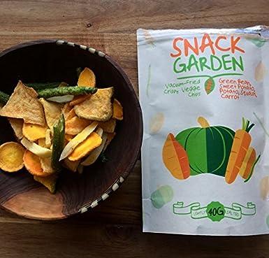 Snack Garden frutas liofilizadas (4x 32g) y Snack Garden chips de verduras (6x 40g): Amazon.es: Alimentación y bebidas