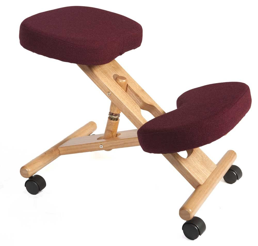 Dsk Teknik Kneeling Burgundy Office Chair