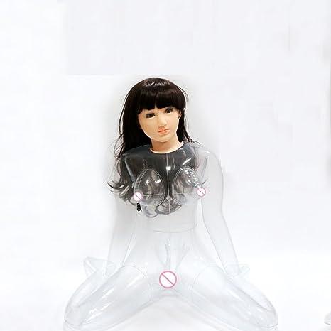 Amazon.com: QIAO - Muñeca hinchable de goma, suave ...
