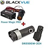 BlackVue Wi-Fi 2 Channel DR550GW-2CH 16GB, Car Black Box/Car DVR Recorder, Built-in Wi-Fi, Full HD(1080p@30fps) With Power Magic Pro