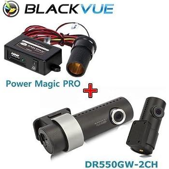 BlackVue Wi-Fi 2 Channel DR550GW-2CH 16GB, Car Black Box/Car DVR Recorder with Power Magic Pro
