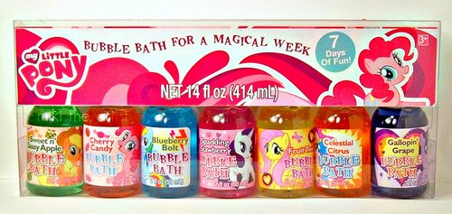 Amazon.com : My Little Pony Bubble Bath Set For A Magical Week (7