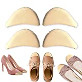Shoe Filler, Toe Filler & Shoe Inserts to Make Big Shoes Fit, Shoe Insoles for Men & Women, Nude (2 Pairs) (Nude)