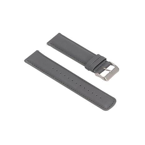 Banda de reloj inteligente, ULT-unite Universal correa de piel, Fit para Samsung/Garmin/ASUS/LG/Pebble ...