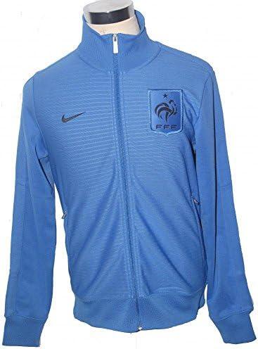 Nike Francia FFF N98 azul cremallera completa fórmense fútbol ...