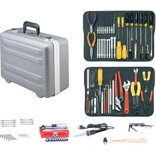 Jensen Tools - JTK-17LHXP - Kit in Gray Deep Deluxe Poly Case