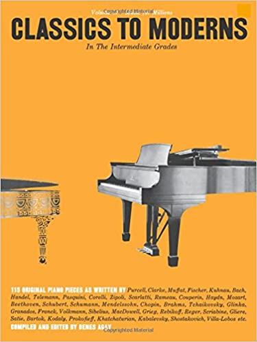 Classics to Moderns in the Intermediate Grade (Music for
