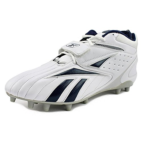 Pro Cleats Toe Round Reebok Full White Blitz Synthetic MP navy Strap BRdwq6wC