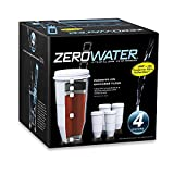 zerowater 4 pack - ZeroWater 4-Pack Replacement Filter Cartridges ZR-004