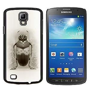 "Be-Star Único Patrón Plástico Duro Fundas Cover Cubre Hard Case Cover Para Samsung i9295 Galaxy S4 Active / i537 (NOT S4) ( Bug Art Dibujo Escarabajo Lápiz Negro Blanco"" )"
