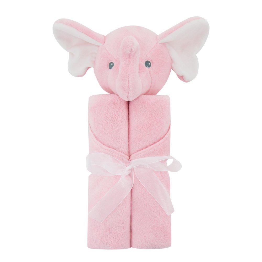 Susan Mommy SLEEPWEAR ユニセックスベビー  Pink Elephish B07F383K8C