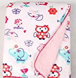 Kleitung Baby and Children Flannel Blanket Feeling Soft Indoor and Outdoor,Especially in Room with air-Conditioner,Now Price Cheapest for Promotion