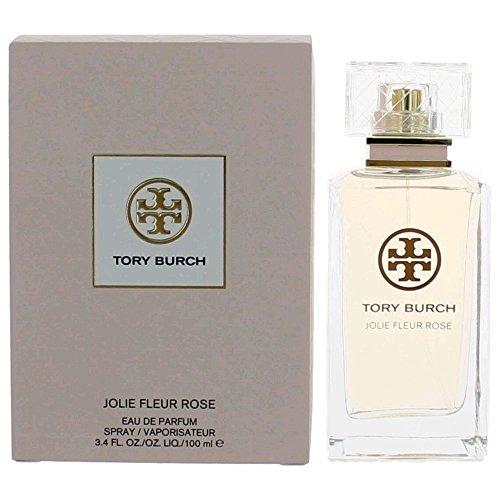 Tory Burch Jolie Fleur Rose EAU DE PARFUM 3.4 oz / 100 ML (Fleur De Rose)