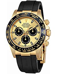 Cosmograph Daytona Yellow Gold and Ceramic Bezel Oysterflex 116518LN. Rolex