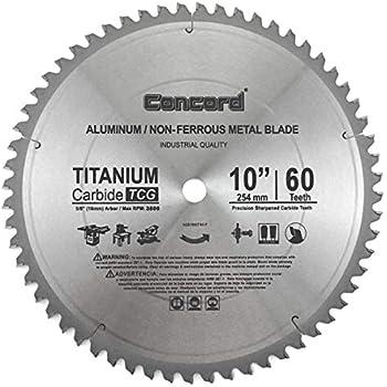 Concord Blades ACB1000T060HP 10-Inch 60 Teeth TCT Non