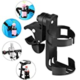Stroller Cup Holder by Accmor, 360 Degrees Universal Rotation Cup Drink Holder for Baby Stroller, Pushchair Bicycle Strollers, Bike, Mountain Bike and Wheelchair