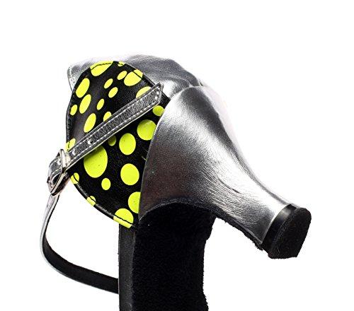 Salsa Our41 C De Modern Sparking heeled6cm Latin UK6 Sandals EU40 Baile Cristales Satin JSHOE Mujer Tacones De Dance 5 Tango Jazz Chacha Zapatos Altos xU78gqtY