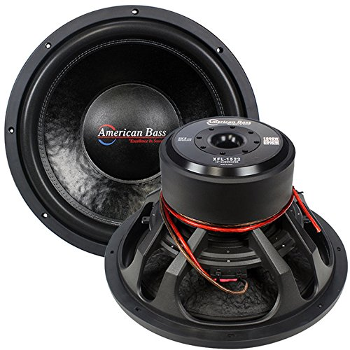 """American Bass XFL1522 15"""" SUBWOOFER AMERICAN BASS DUAL 2 OHM VOICE COILS; 200 OZ. MAGNET"""