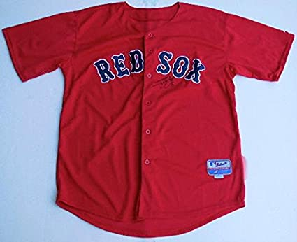 c9cf8450b80 Image Unavailable. Image not available for. Color  Jonny Gomes Autographed  Jersey (red Sox) ...