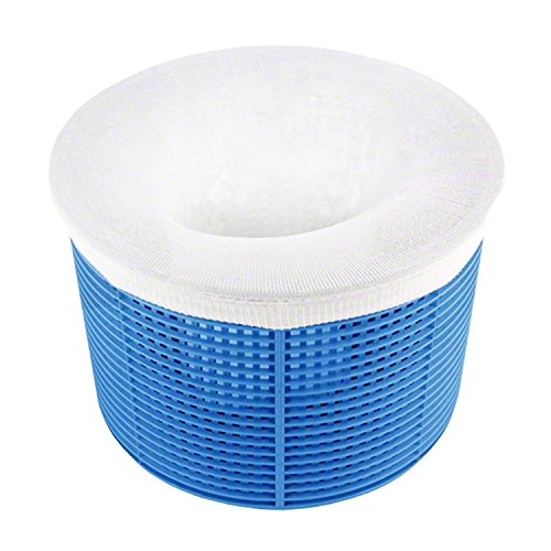 ZJlncpz Pool Skimmer Socks Standard Size Socks Filter Savers for Baskets and Skimmers Removes Debris Leaves Oil Pollen Bugs Scum Pack of ()