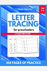 Letter Tracing Book for Preschoolers: Letter Tracing Book, Practice For Kids, Ages 3-5, Alphabet Writing Practice Paperback