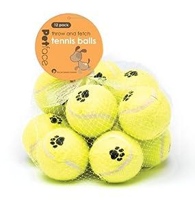 Petface 21007 Tennisbälle, 12er Pack