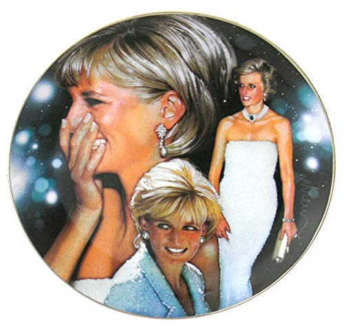(Franklin Mint Lady Diana Princess of Style Collector's Plate 8 3/8 in Dia)