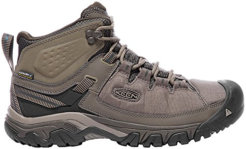 KEEN Men's Targhee exp mid wp-m Hiking Boot, Bungee Cord/Brindle, 11 M ()