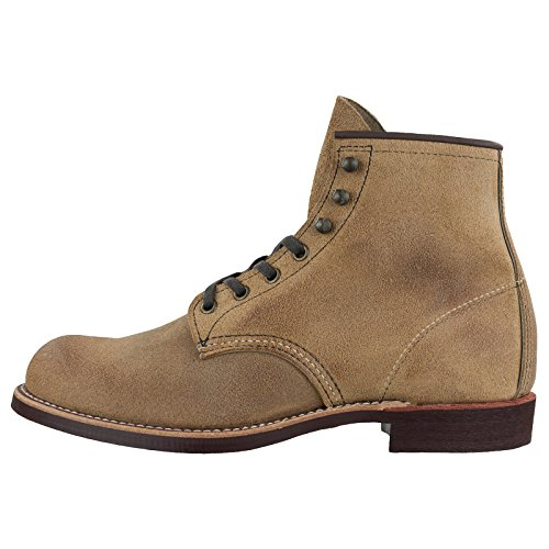 3344 Wing Camel Mens Red Boots Leather Blacksmith 6gzSSqaw