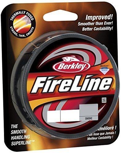 Berkley FireLine Fused Original, 8lb   3.6kg, 300yd   274m Superline - 8lb   3.6kg - 300yd   274m (Color Smoke) by Berkley