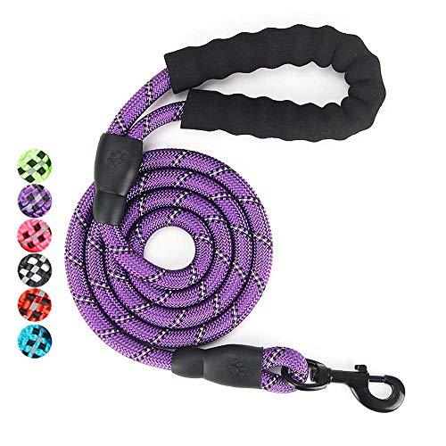 U2Paw Gift Set for Dog Walking, Car Travel, Hiking, Camping – 5 FT Reflective Dog Leash, Adjustable Car Seat Belt and…