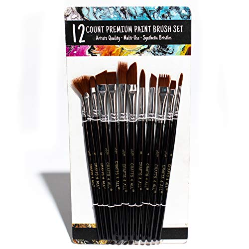 Paint Brushes 12 Set