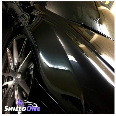 Shield One Advanced Ceramic Spray Coating - Car Topcoat - Premium Car Polish - Automotive Ceramic Shine - Multiple Surface Use - Professional Car Protection - Top Coat Polish - Waterless Car Wash by Shield One (Image #7)