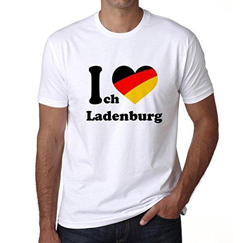 Ich Liebe Ladenburg  Tshirt Men  I Love City Shirt  German City Tshirt Men