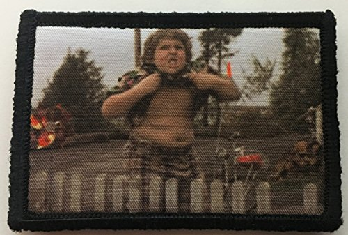 Goonies Chunk Truffle Shuffle Funny Tactcial Military Morale Patch. Perfect for your Tactical Rucksack, Army Gear, Backpack, Operator Baseball Cap, Plate Carrier or Vest. 2x3 Patch. Made in the USA