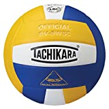 Tachikara Sensi-Tec Composite High Performance Volleyball, Royal/White/Gold