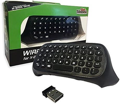 Old Skool Xbox One Chatpad - Mini teclado inalámbrico con conector ...