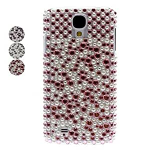 ZXC Samsung S4 I9500 compatible Special Design Plastic Jewel Covered Cases , Pink