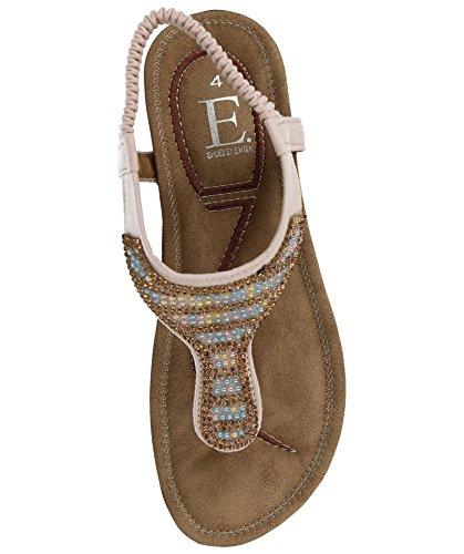 Femme Sandales Rose Pour Clair Emma Shoes T0qwOO