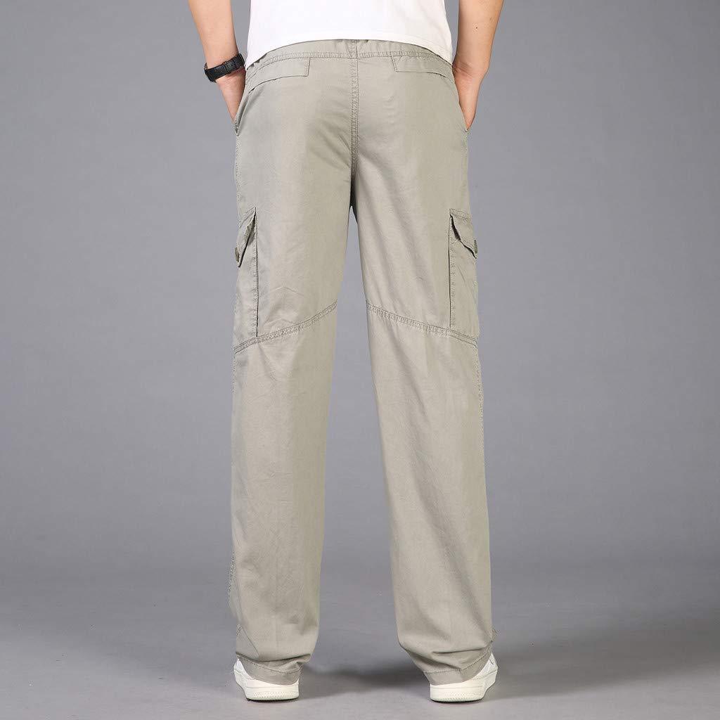 Chandales Pantalones Para Hombre Tallas Grandes Suelto Pantalones Casuales Moda Trabajo Pantalones Jogging Pants Fitness Pantalones Chandal Hombre Largos Pantalones Ropa De Hombre Pantalones De Trekking Ropa